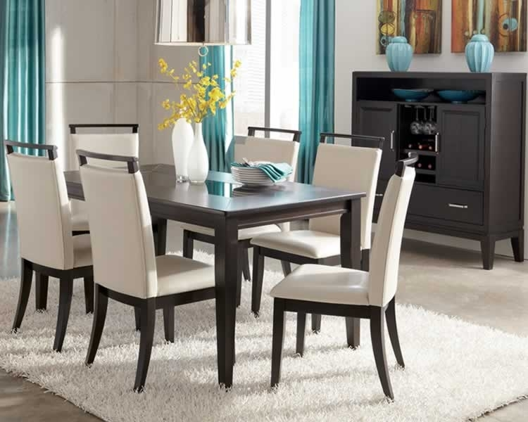 Contemporary Dining Room Set | Marceladick With Regard To Macie 5 Piece Round Dining Sets (Image 14 of 25)