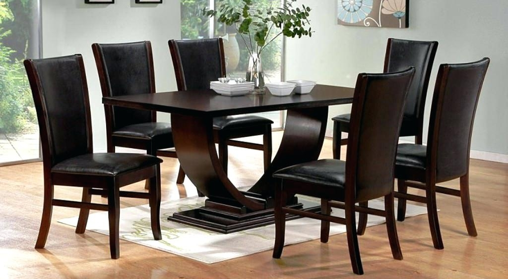 Contemporary Dining Room Table Sets – Kuchniauani Inside Modern Dining Table And Chairs (View 25 of 25)