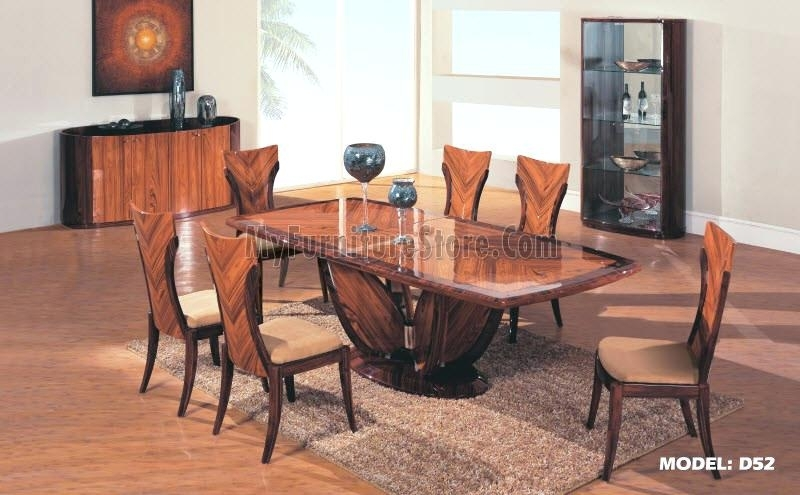 Contemporary Dining Room Table Sets Stylish Modern Dining Table Sets With Contemporary Dining Tables Sets (View 25 of 25)
