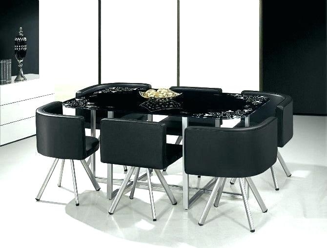 Contemporary Dining Table And 6 Chairs Colman W Side Chairsfurniture Inside 6 Seater Glass Dining Table Sets (Image 10 of 25)