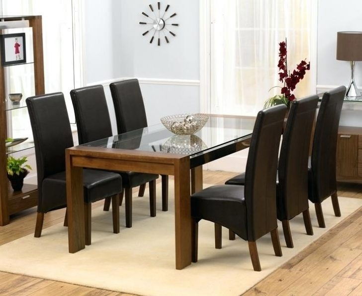 Contemporary Dining Table And 6 Chairs High Gloss White Sets Modern Inside Dining Tables With 6 Chairs (View 19 of 25)