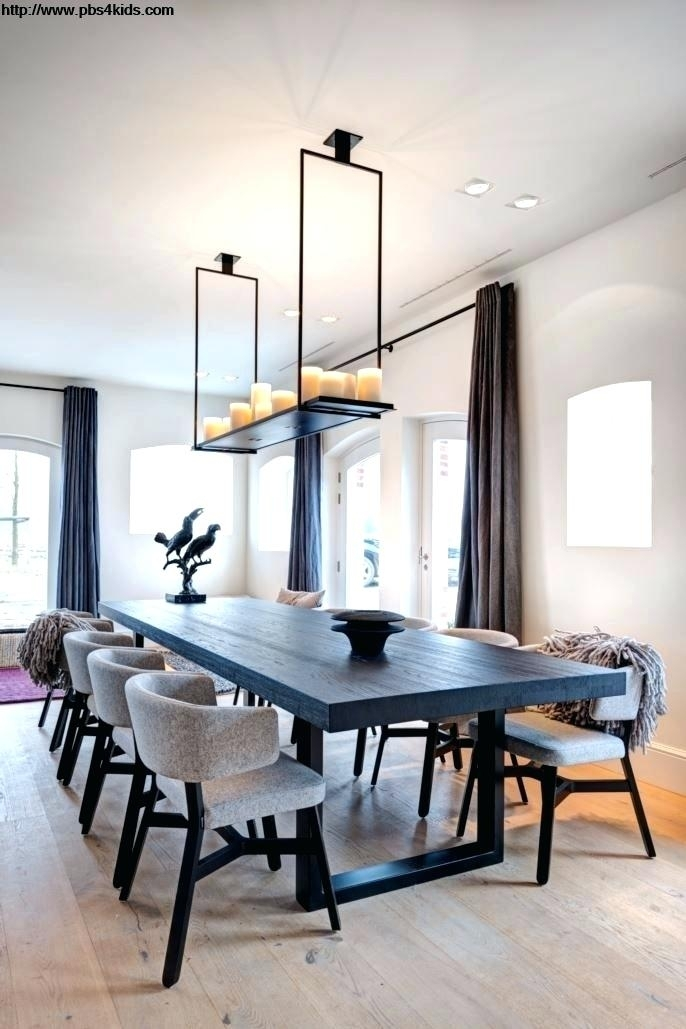 Contemporary Dining Table Sets Tempered Thick Glass Brown Finish Inside Contemporary Dining Sets (Image 9 of 25)