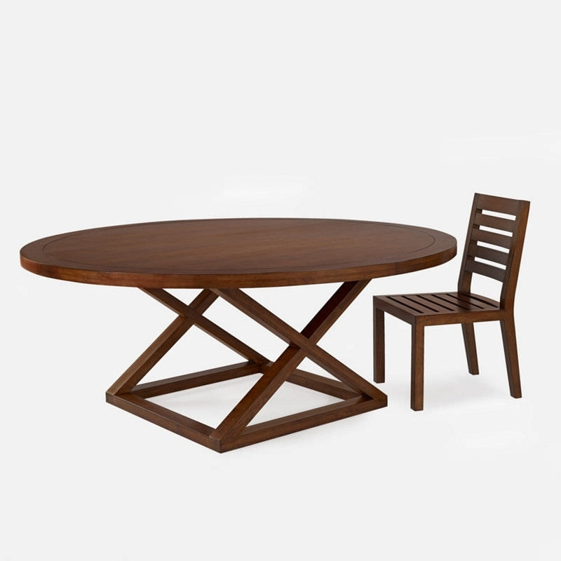 Contemporary Dining Table / Wooden / Round – Jamaica – Ralph Lauren For Laurent Round Dining Tables (View 10 of 25)