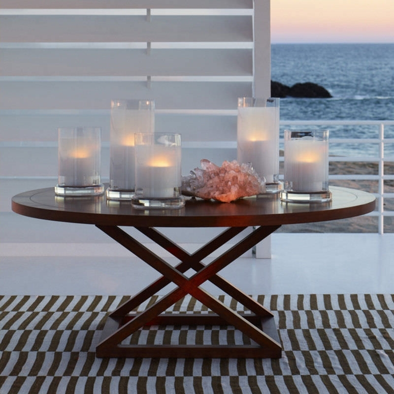 Contemporary Dining Table / Wooden / Round – Jamaica – Ralph Lauren With Laurent Round Dining Tables (View 6 of 25)