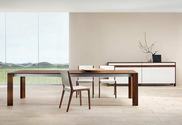 Contemporary Dining Tables – Decoration Channel Inside Modern Dining Room Furniture (Image 7 of 25)