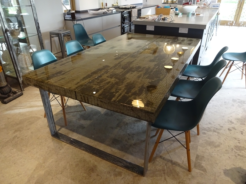Contemporary Dining Tables London | H & H Modern Dining Tables Regarding London Dining Tables (View 2 of 25)