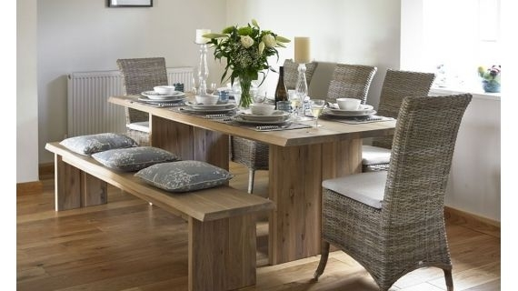 Contemporary Dining Tables| Modern Dining Room Tables | Holloways Pertaining To Contemporary Dining Tables (Image 12 of 25)