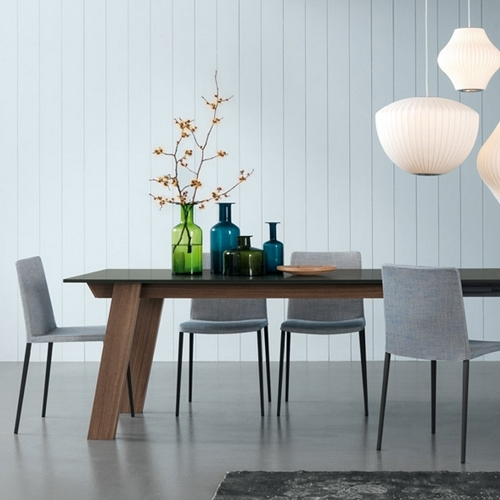 Contemporary Furniture From Belvisi Furniture Cambridge for Victor Dining Tables