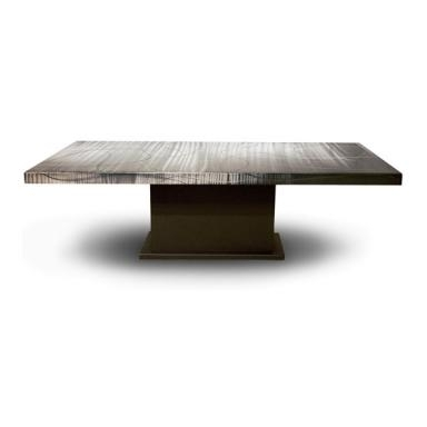 Contemporary Galleries – Armour Dining Table With Pedestal Base For Contemporary Base Dining Tables (Image 4 of 25)