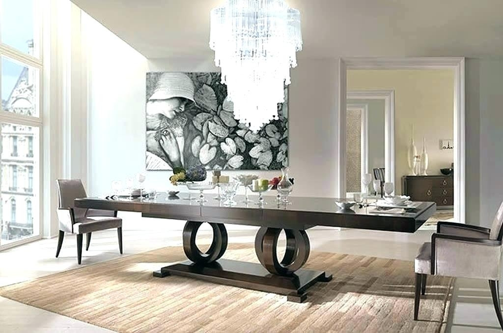 Contemporary Italian Dining Room Furniture 5 6 Modern Italian Dining With Italian Dining Tables (Image 7 of 25)
