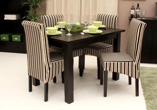 Contemporary Kudos Dark Wood Small Dining Table Designbaumhaus pertaining to Small Dark Wood Dining Tables