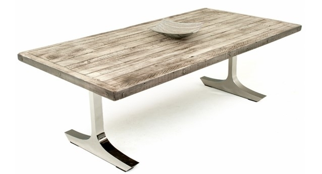 Contemporary Rustic Dining Tables, Modern Refined Dinette For Rustic Dining Tables (Image 4 of 25)