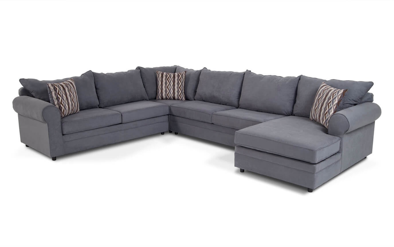 Contemporary Sectional Sofachomel Within Jobs Oat 2 Piece Sectionals With Left Facing Chaise (Image 7 of 25)