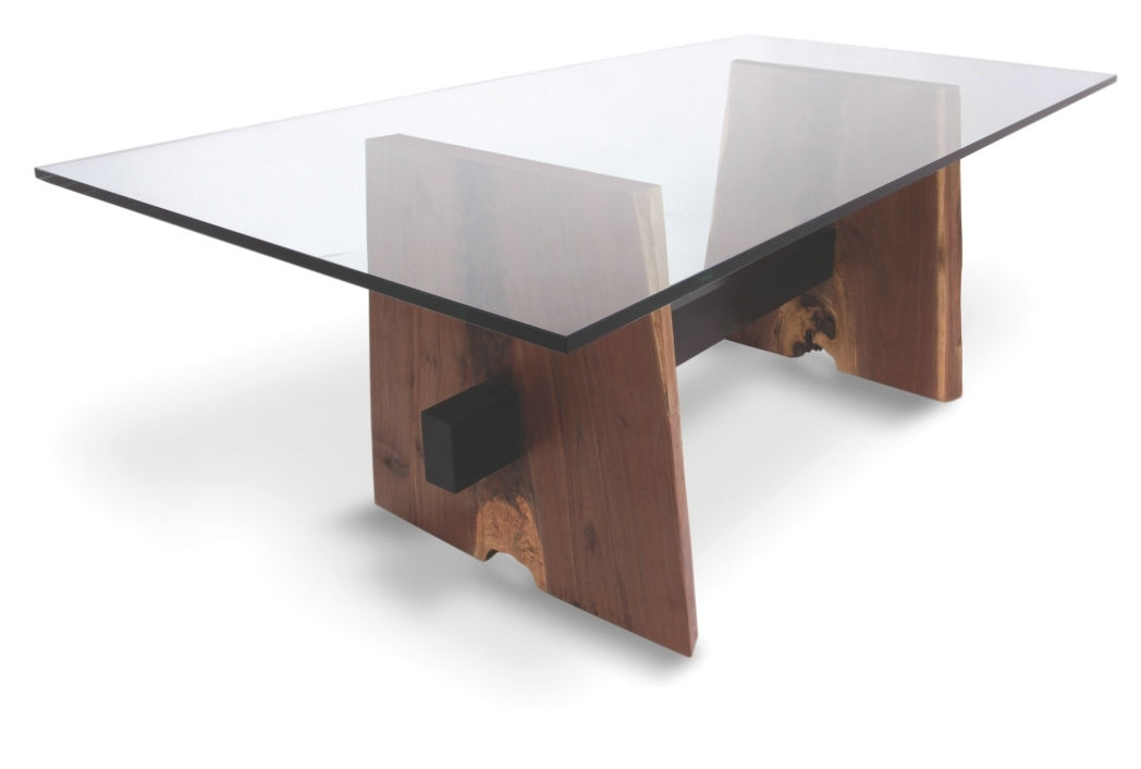 Contemporary Table / Wooden / Rectangular / In Reclaimed Material Within Contemporary Base Dining Tables (View 16 of 25)