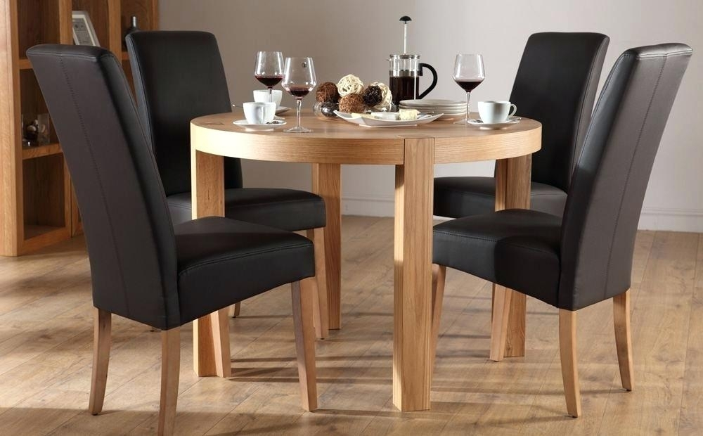 Cool Circular Dining Tables Furniture Round And Chairs Ikea Circle Intended For Circular Dining Tables For  (Image 7 of 25)
