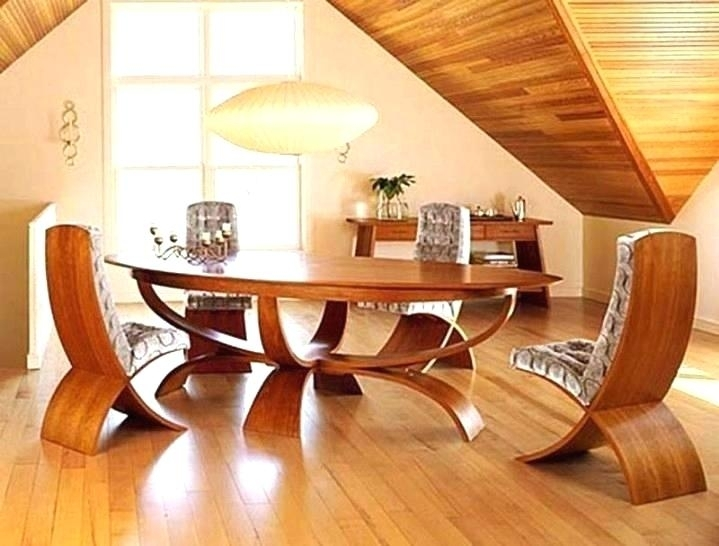 Cool Dining Room Sets Gorgeous Glass And Wood Tables Table Within Unusual Dining Tables For Sale (View 7 of 25)