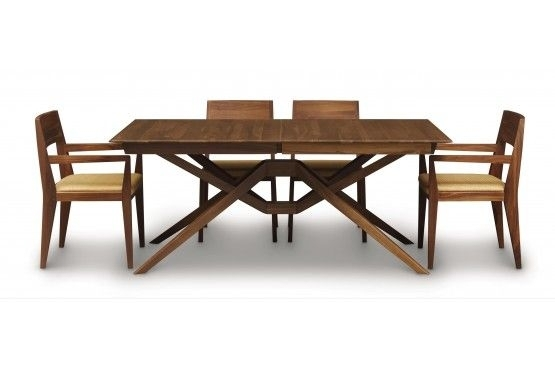 Copeland Furniture : Natural Hardwood Furniture From Vermont Regarding Teagan Extension Dining Tables (View 11 of 25)