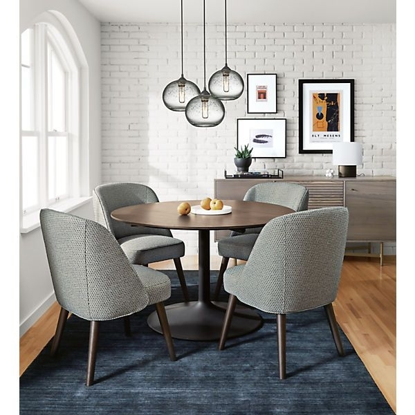 Cora Dining Chair – Modern Dining Chairs – Modern Dining Room For Cora Dining Tables (Image 6 of 25)