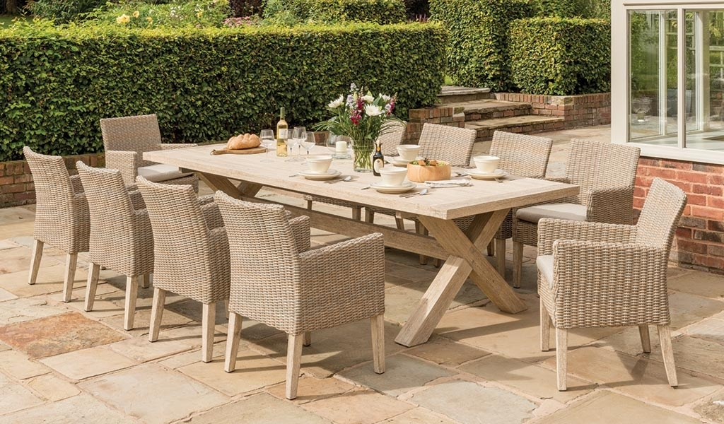 Cora Dining Table 280X110Cm – Kettler Official Site Within Cora Dining Tables (Image 11 of 25)