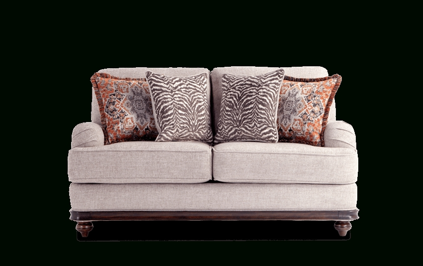 Cora Loveseat | Bob's Discount Furniture With Regard To Cora 7 Piece Dining Sets (Image 5 of 25)