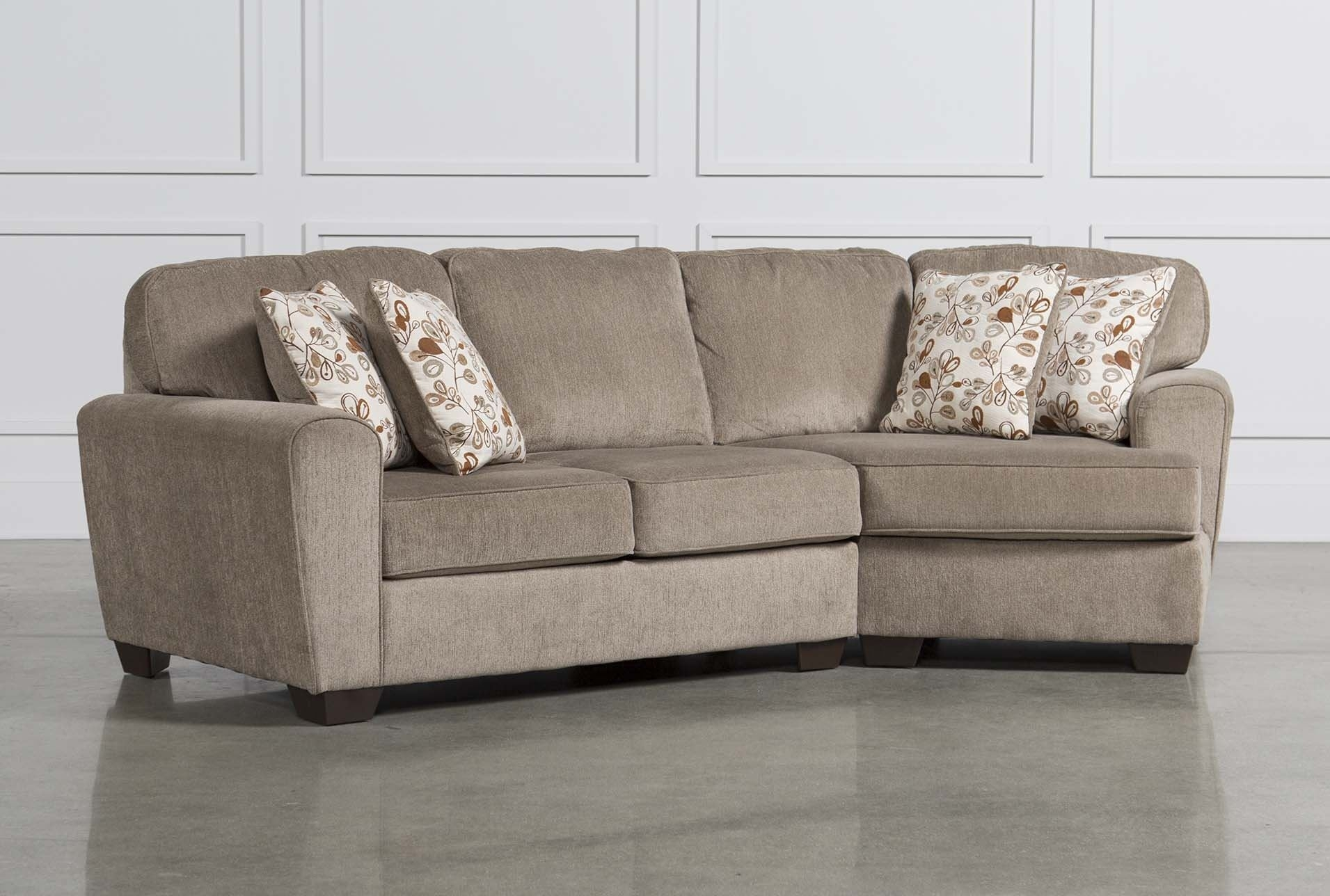 Corbin 3 Piece Sectional W Raf Chaise Ideas Of Living Spaces Within Avery 2 Piece Sectionals With Laf Armless Chaise (Image 9 of 25)