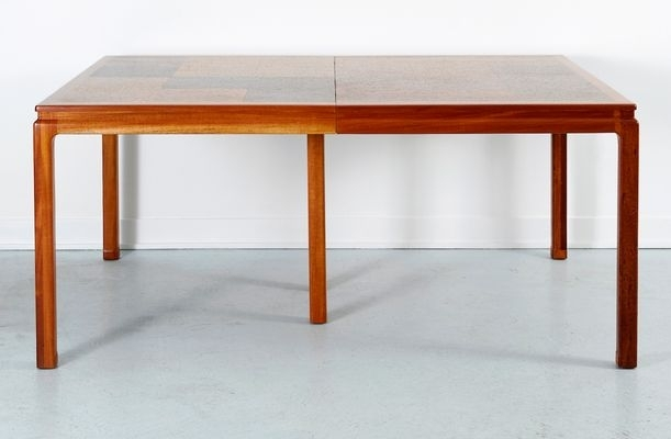 Cork Dining Tableedward Wormley For Dunbar, 1960S For Sale At Pamono In Cork Dining Tables (Image 7 of 25)