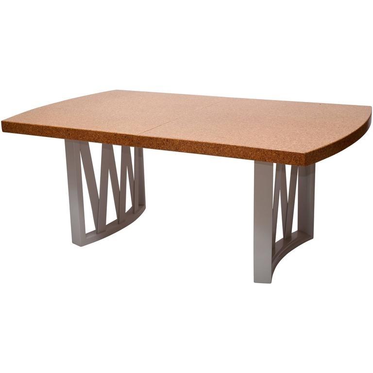 Cork Top Dining Tablepaul Frankl For Sale At 1Stdibs Regarding Cork Dining Tables (Image 8 of 25)
