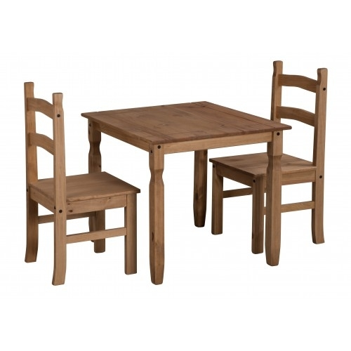 Corona Rio Dining Table & 2 Chairs With Rio Dining Tables (View 5 of 25)
