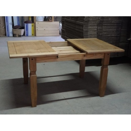 Corona Small Extending Dining Table & 4 Chairs Pertaining To Small Extending Dining Tables (Image 6 of 25)