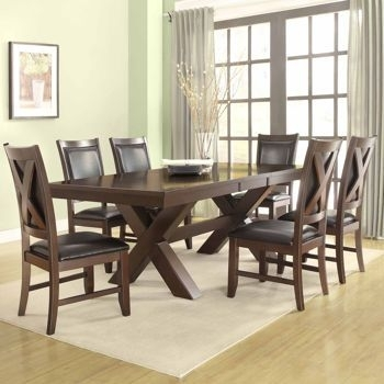 """Costco: Braxton 7 Piece Dining Set $1499, 60 84"""" X 40"""" 
