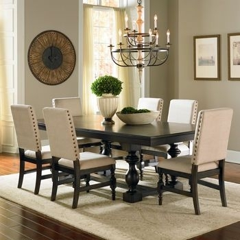 Costco: Carmel 7 Piece Dining Set | Home Is Where My Heart Is Within Market 7 Piece Dining Sets With Host And Side Chairs (View 6 of 25)