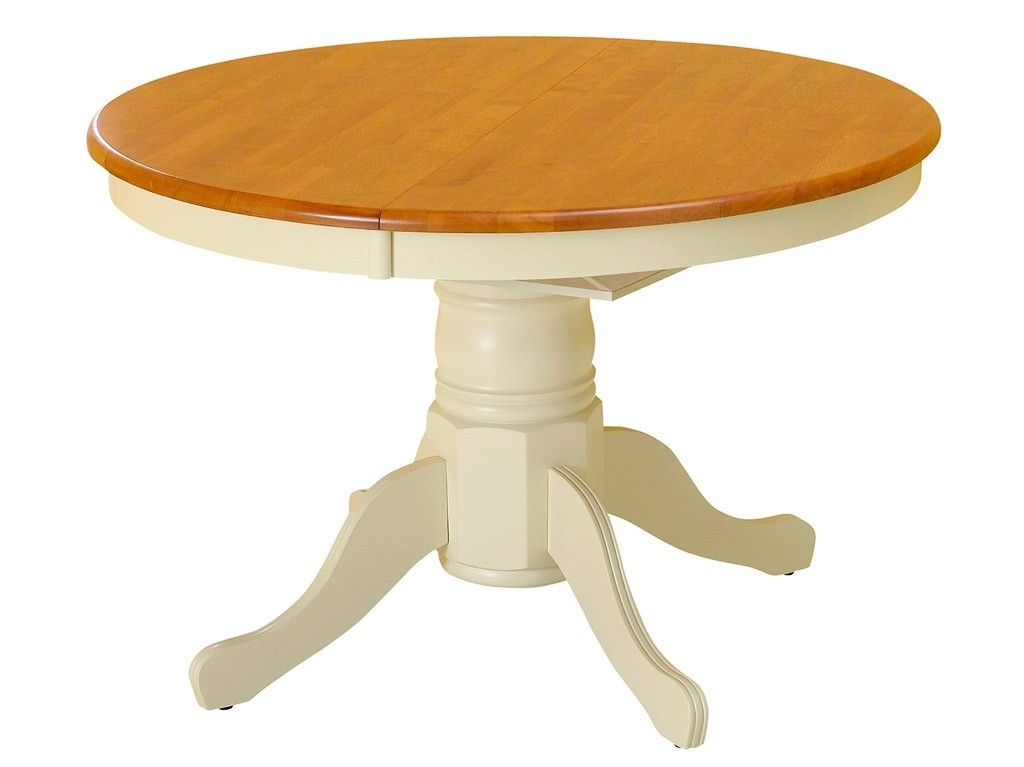 Cotswold Buttermilk Round Extending Dining Table Only In Combs Extension Dining Tables (Image 14 of 25)