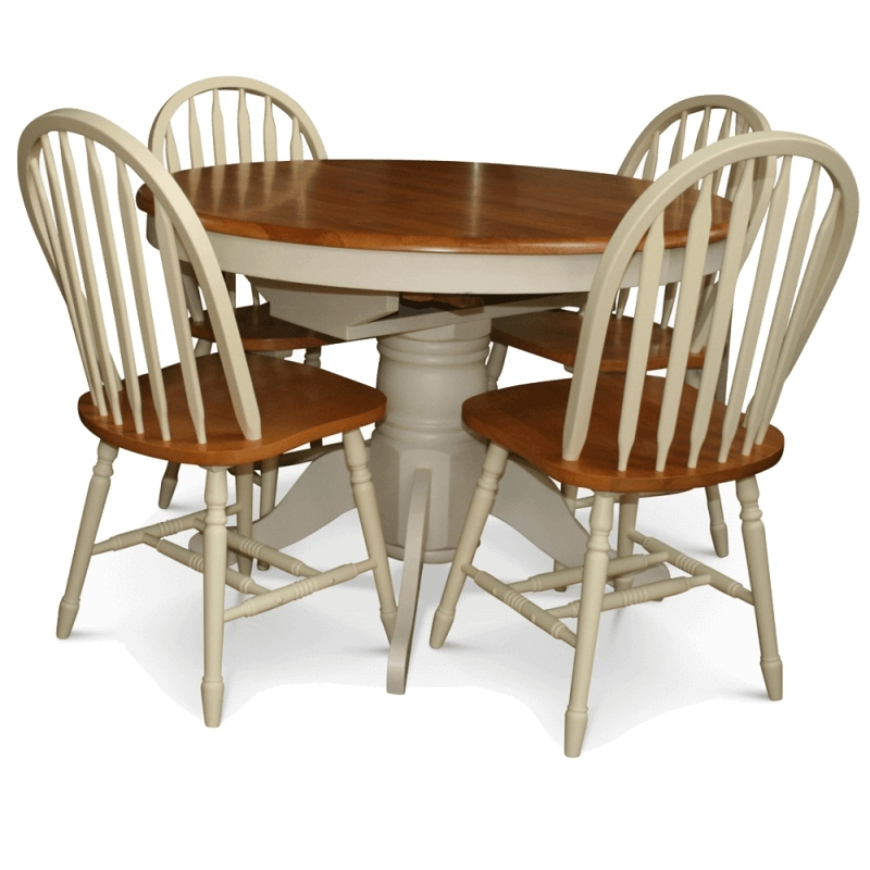 Cotswold Extending Table & 4 Chairs – Ez Living Sheehys Furniture Intended For Cotswold Dining Tables (View 19 of 25)