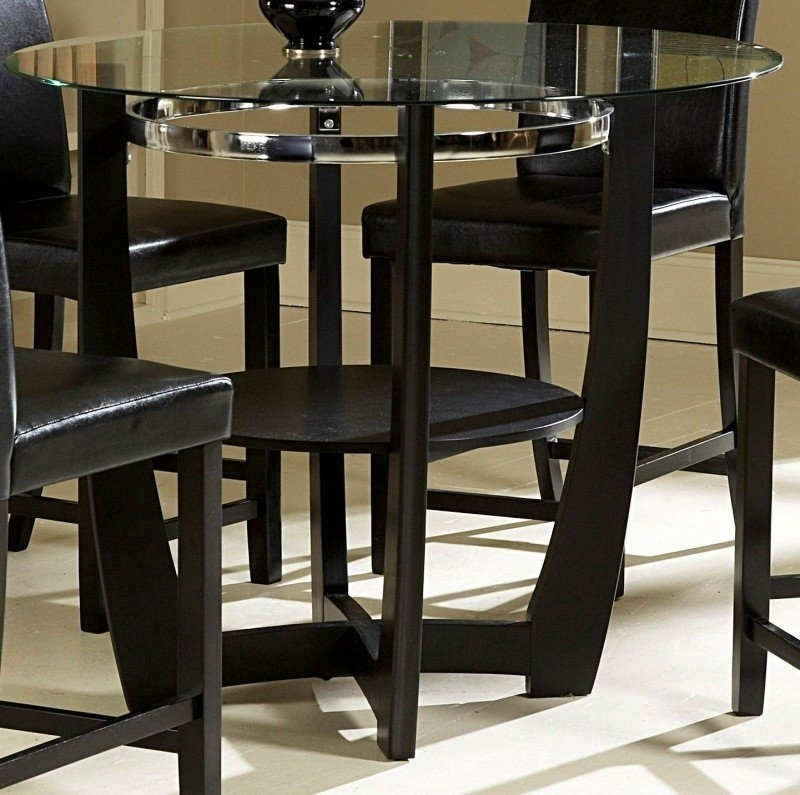 Counter Height Round Dining Table – Foter With Regard To Candice Ii 5 Piece Round Dining Sets (Image 14 of 25)