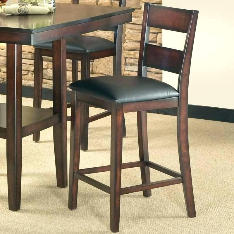 Counter Height Table And Stools Rustic Counter Height Table Set With Regard To Hyland 5 Piece Counter Sets With Stools (Image 11 of 25)