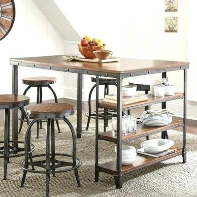 Counter Level Dining Sets Market 5 Piece Counter Set Dining Room Within Market 5 Piece Counter Sets (Image 11 of 25)