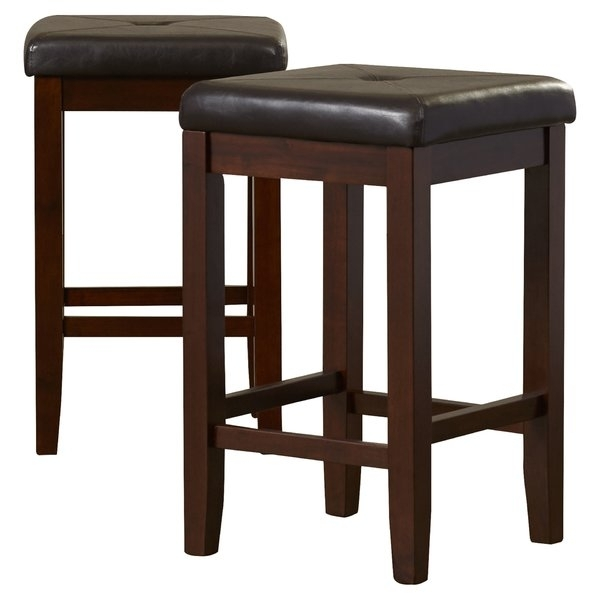 Counter Stool Cushions | Wayfair Inside Valencia 4 Piece Counter Sets With Bench & Counterstool (Image 7 of 25)
