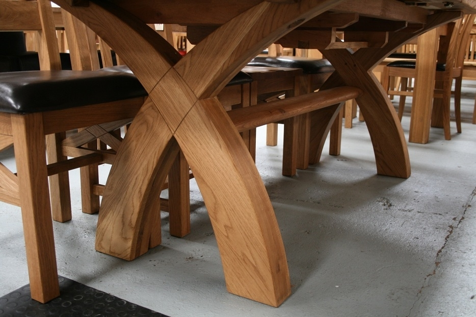 Country Oak Furniture | Rustic Oak Dining Table Furniture – Oak Within 8 Seater Oak Dining Tables (View 25 of 25)