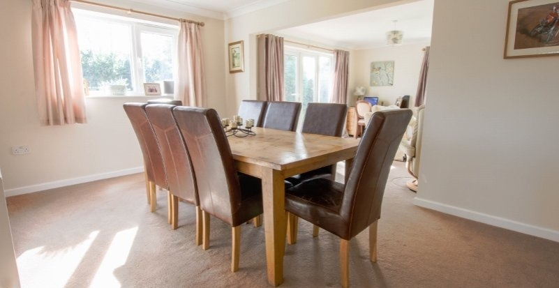 Country Properties For Sale In Hampshire, Andover, Winchester For Partridge 6 Piece Dining Sets (Image 10 of 25)