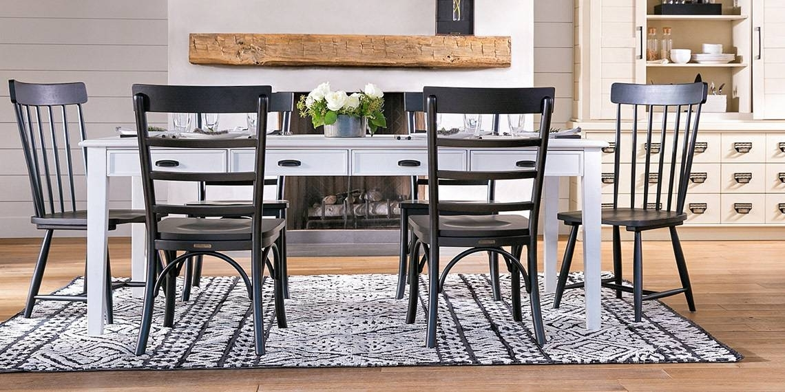 Country/rustic Dining Room With Magnolia Home Keeping Table | Living With Regard To Magnolia Home Keeping Dining Tables (Image 1 of 25)