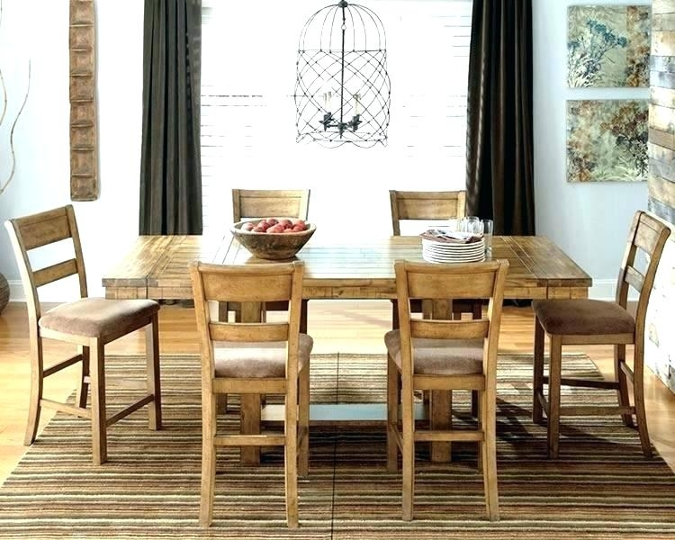 Country Style Dining Country Dining Table With Bench Coaster 6 Intended For Country Dining Tables (Image 5 of 25)