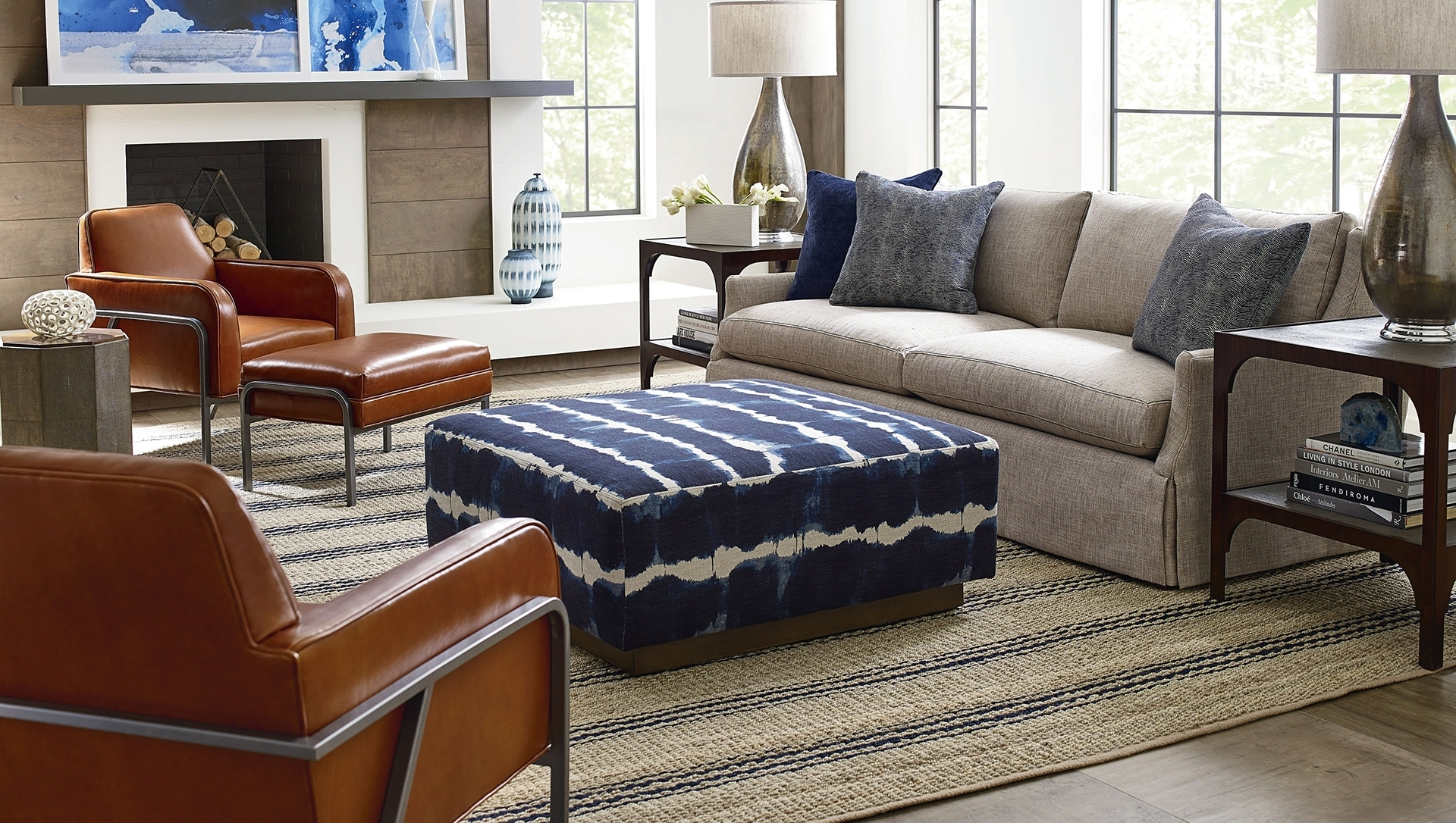 Cr Laine Furniture Inside Sierra Down 3 Piece Sectionals With Laf Chaise (Image 9 of 25)
