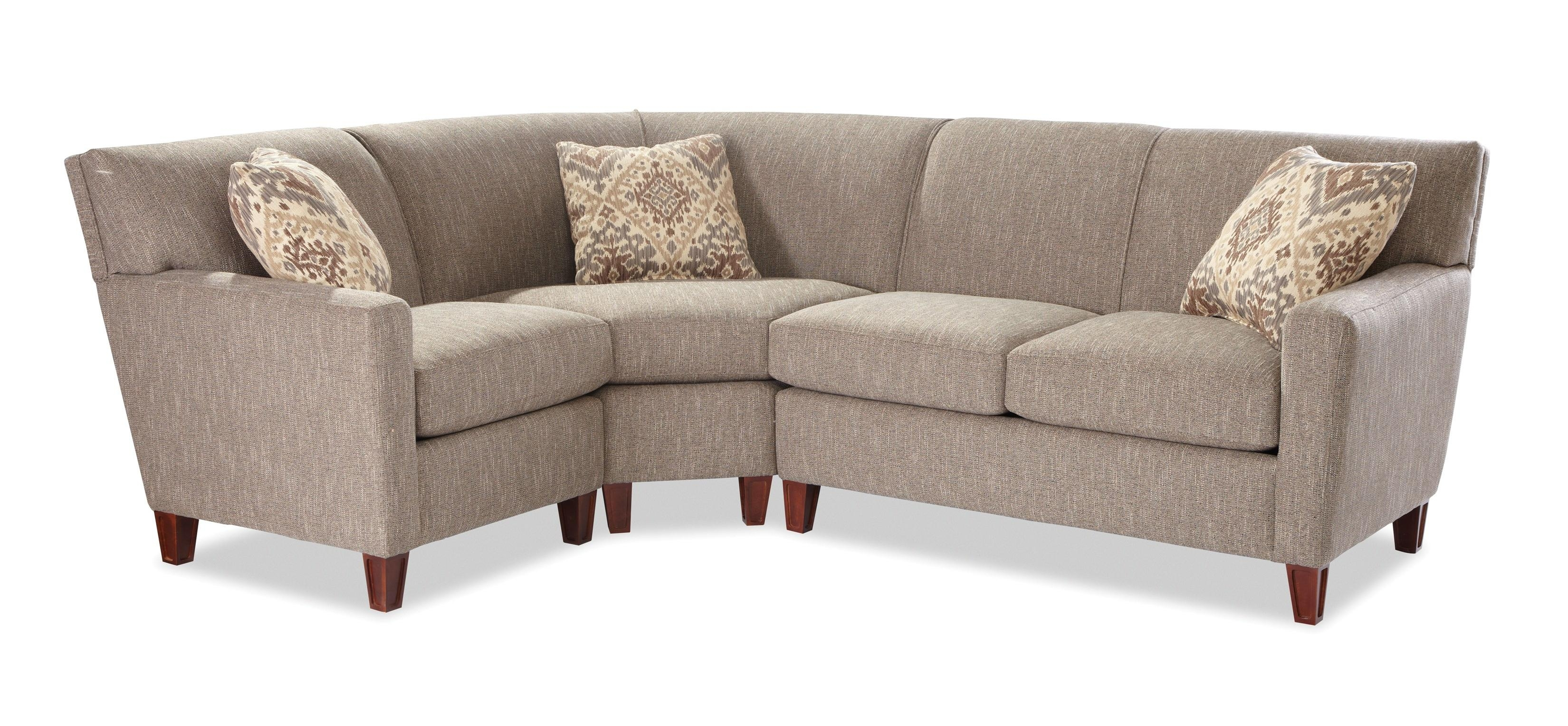 Craftmaster 7864 Three Piece Sectional Sofa With Raf Loveseat Within Josephine 2 Piece Sectionals With Laf Sofa (Image 10 of 25)