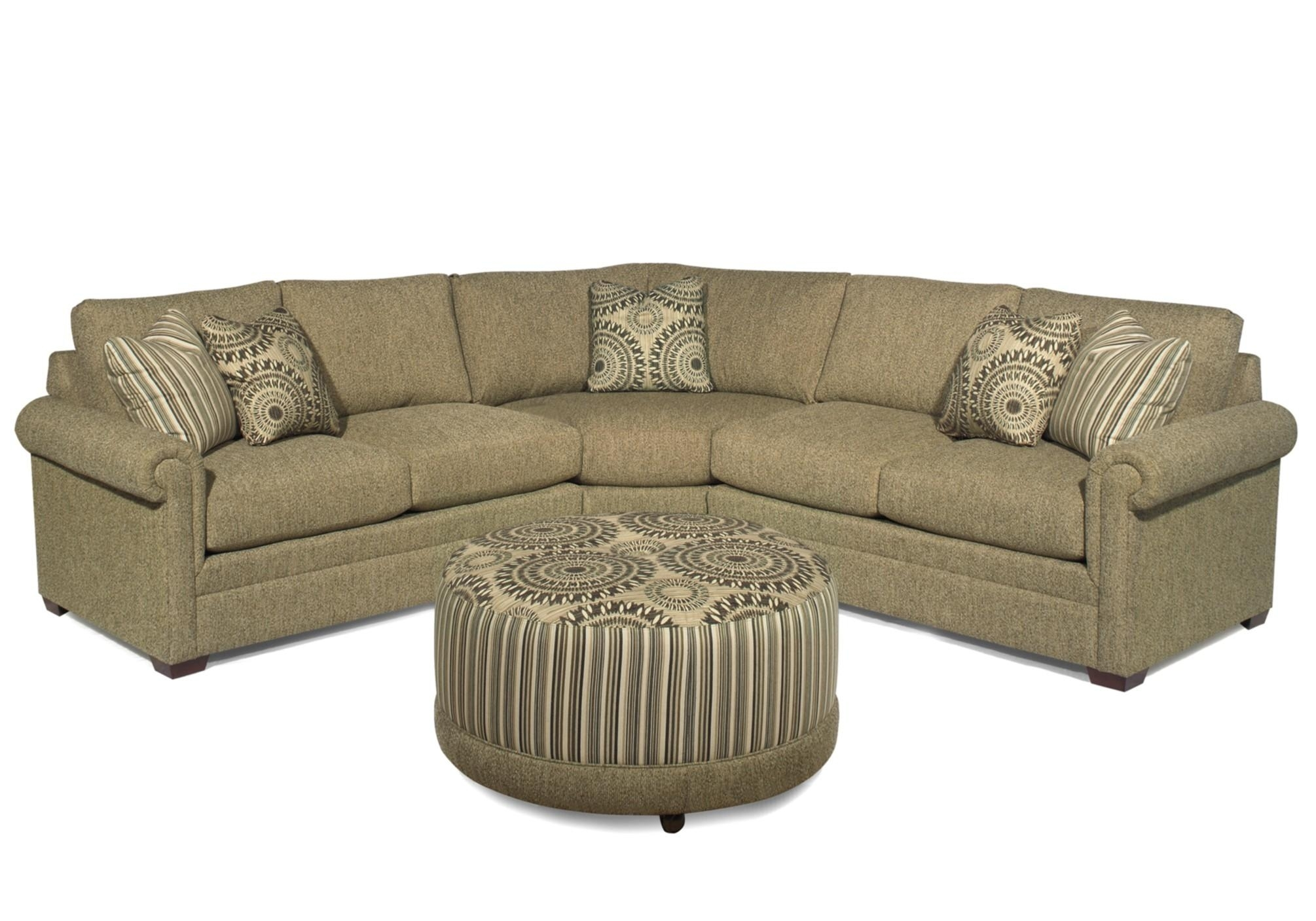 Craftmaster F9 Custom Collection <B>Customizable</b> 3 Piece With Regard To Tatum Dark Grey 2 Piece Sectionals With Raf Chaise (Image 6 of 25)