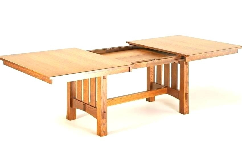 Craftsman Dining Table Craftsman Style Dining Table 1 Sears Canada Within Craftsman Round Dining Tables (Image 9 of 25)