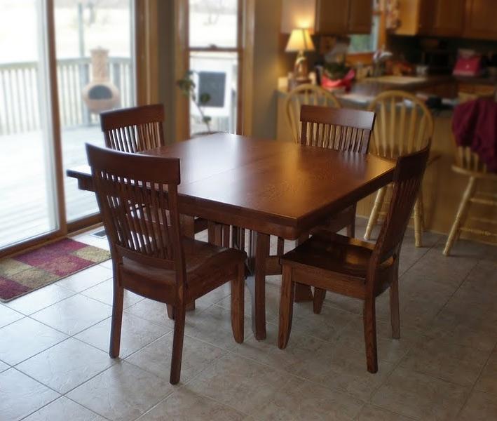 Craftsman Round Table | Erik Organic Pertaining To Craftsman Round Dining Tables (Image 14 of 25)