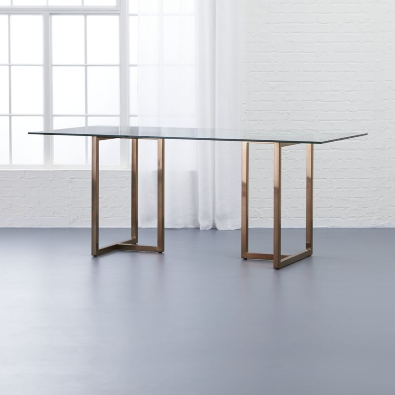 Crate And Barrel Dining Tables | Cb2 Regarding Dining Tables (Image 3 of 25)