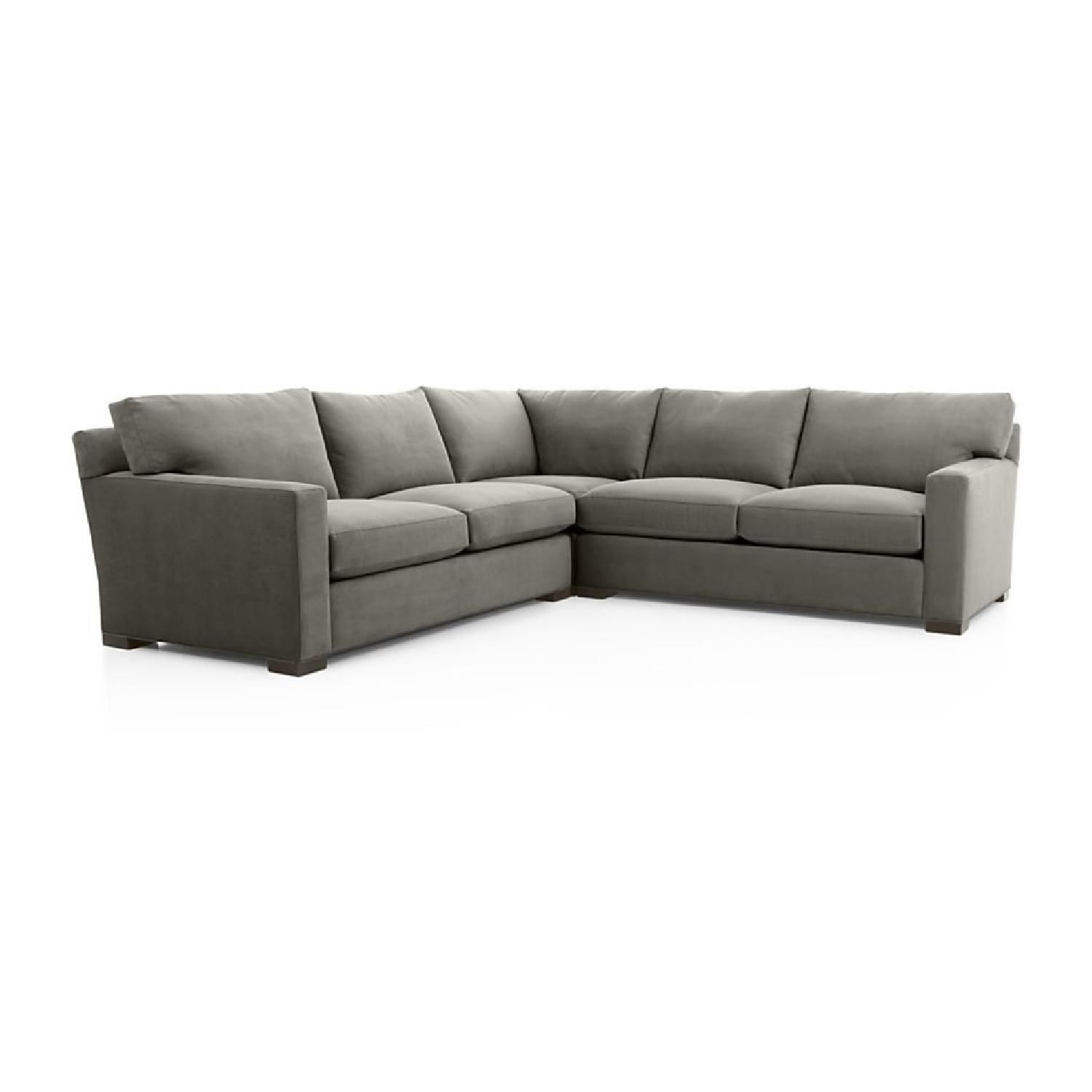 Crate & Barrel Axis Ii 3 Piece Sleeper Sectional | Sofas | Pinterest With Aidan 4 Piece Sectionals (View 12 of 25)