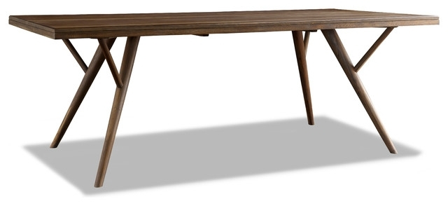 Crawford Dining Table – Midcentury – Dining Tables Brownstone Inc (View 18 of 25)
