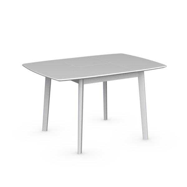 Cream Cs/4063 Q Extendable Dining Tablecalligaris, Italy – City Intended For Cream Lacquer Dining Tables (Image 6 of 25)